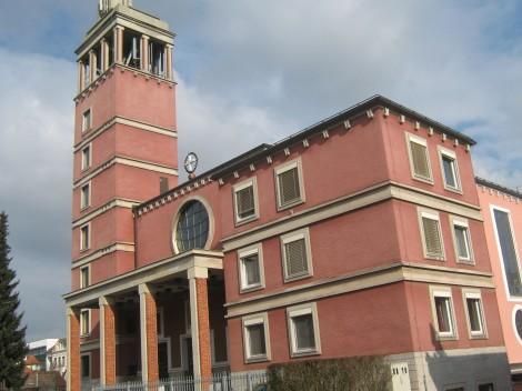 Cerkev sv. Terezije na Kodeljevem je bila zgrajena oktobra 1938.
