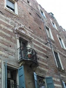 Hiša v kateri je živela družina Romea