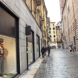 Via Mazzini, nakupovalna ulica v Veroni.