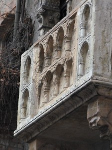 Znameniti Julijin balkon.