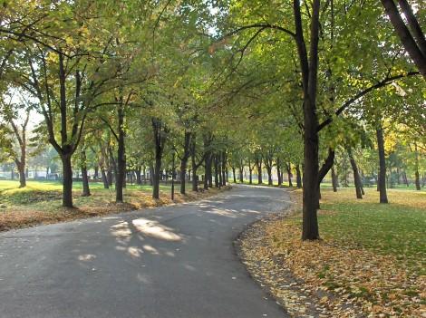 Park v niški trdnjavi.