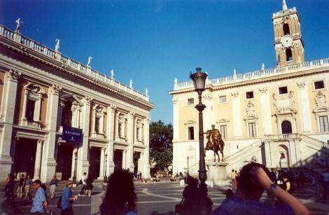 Kapitolski grič, najmanjši med sedmimi rimskimi griči.