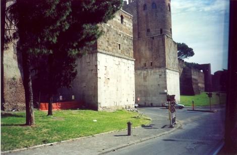Avrelijevo obzidje je zajelo vseh sedem rimskih gričev.