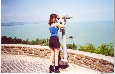 """Pogled na madžarsko """"morje"""" - Blatno jezero."""