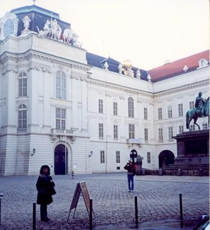 Dvorec Hofburg.