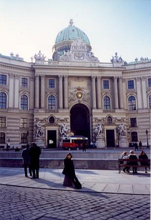 Hofburg, Dvorni grad, nekdanja cesarska rezidenca.
