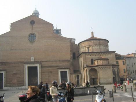 Bazilika v Padovi.