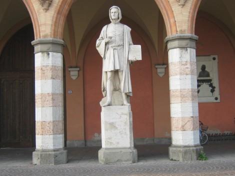 Giotto, italijanski slikar in arhitekt.