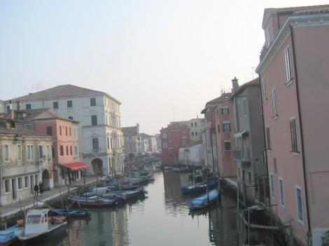Nahajamo se v Chioggi, na jugu Beneške lagune.