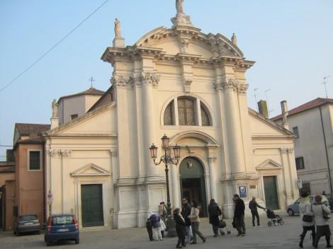 Sant Andrea. Cerkev sv. Andreja.