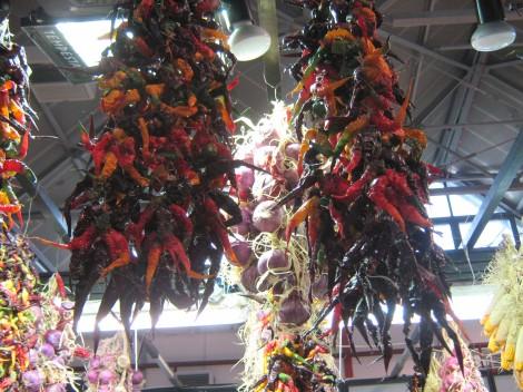 posušene paprike
