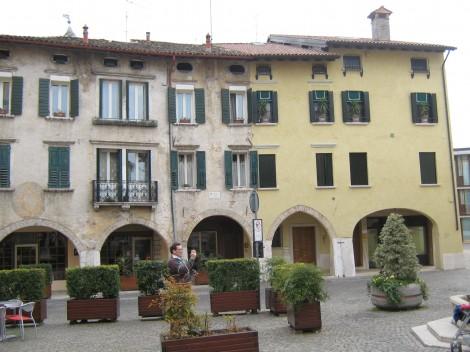 Tudi Pordenone ima trg sv.Marka