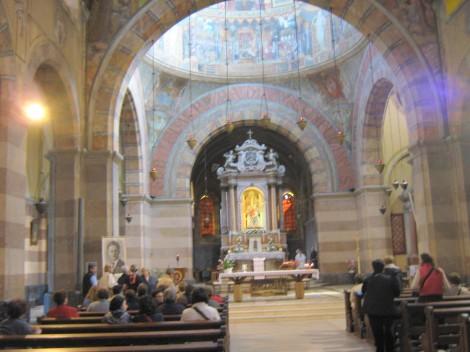 romarska Marijina cerkev na otoku