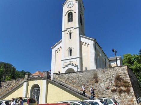 Neoromanska cerkev sv. Ane v Framu