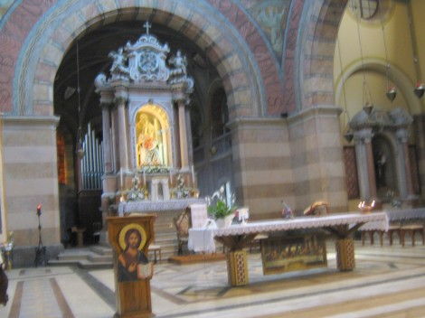 Marijino svetišče na otoku Barbana.