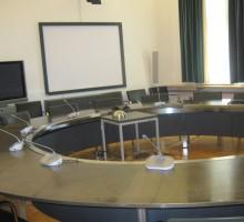 Soba za mednarodne video konference.