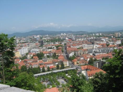 Zgodba romana se dogaja tudi v Ljubljani
