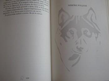 Notranjost romana Nežnost volkov.