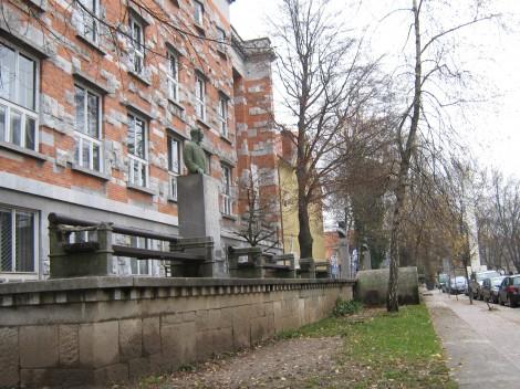 Narodna in univerzitetna knjižnica NUK sodi med Plečnikova najpomembnejša dela.