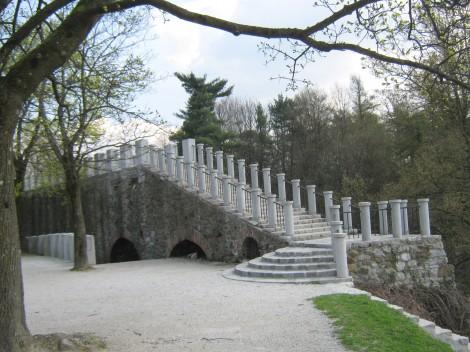 Šance, nekoč obrambna trdnjava, danes sprehajališče.