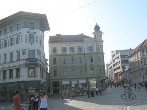 Prešernov trg in Čopova ulica