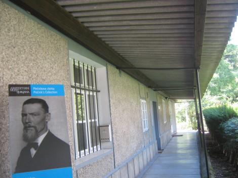 Plečnikova hiša, danes Plečnikov muzej.