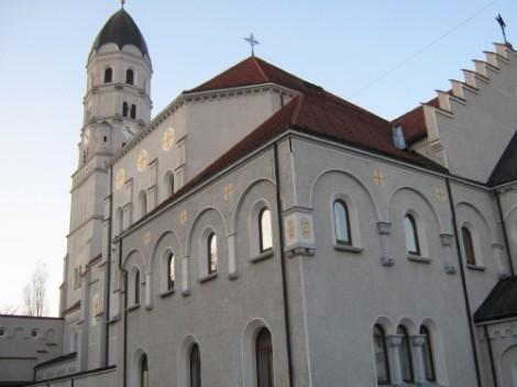 Cerkev sv. Jožefa. Leta 1922 je Plečnik v cerkvi uredil kapelo, dve leti pozneje pa je postavil še prižnico. Šele leta 1940. pa so zbrali dovolj prostovoljnih prispevkov, da so lahko postavili glavni oltar.