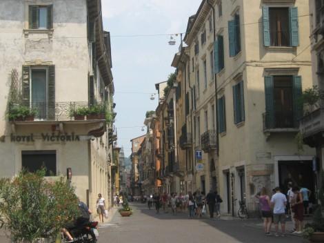 Ulica v Veroni