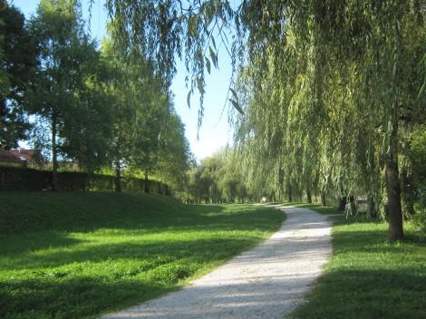 Sprehajalne poti ob Ljubljanici.