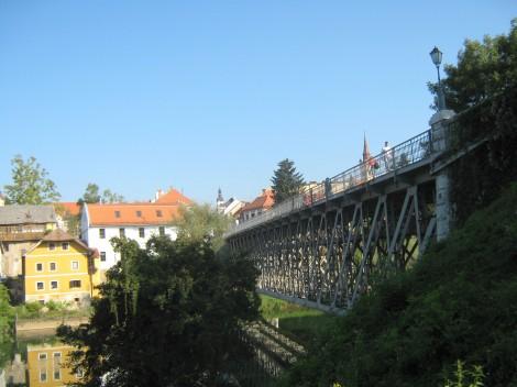Kandijski most v Novem mestu.