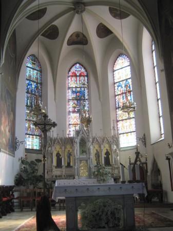 Oltar cerkve Sv. Lenarta