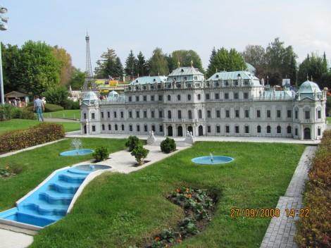 Dvorec Belvedere, 18 st., Dunaj, Avstrija
