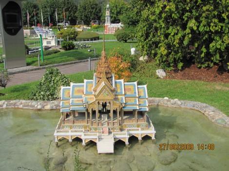 Bang Pa paviljon na vodi, Thailand