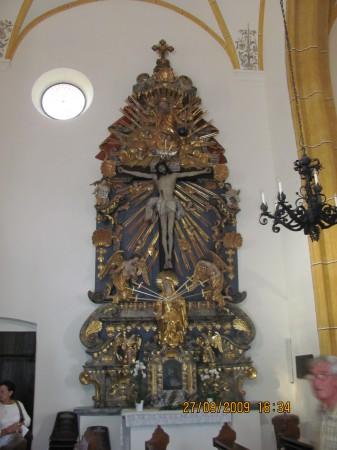 Baročni oltar.
