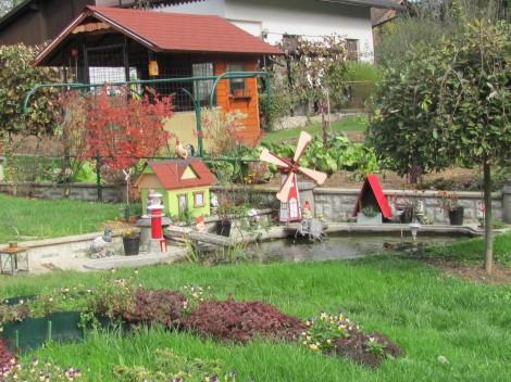Ribnik na vrtu