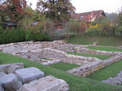 Arheološki park Emonska hiša.