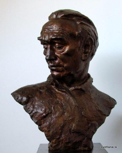 Kipar Antun Augustinčič, avtoportret