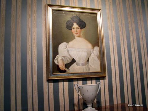 Baronica Draškovič in čudovita vaza iz 19. stoletja