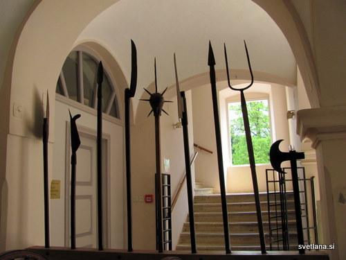V dvorcu Oršič je tudi Muzej kmečkih uporov