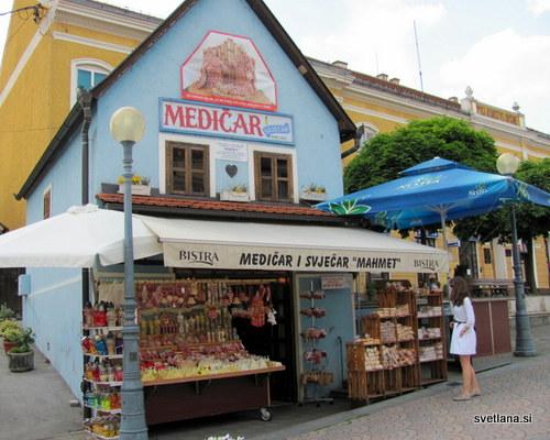 Trgovina z odličnimi medenjaki v Mariji Bistrici