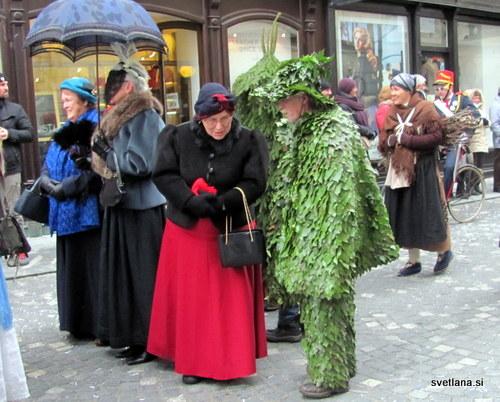 Zeleni Jurij in fina gospa :)
