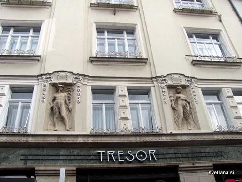 Hostel Tresor v Ljubljani, na Čopovi ulici 38