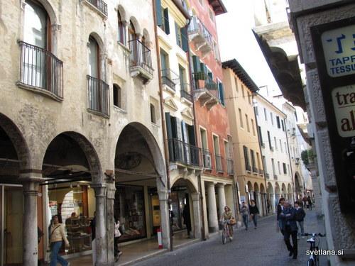 Treviso, staro mestno jedro