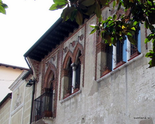 Treviso, čudovita palača v beneškem slogu