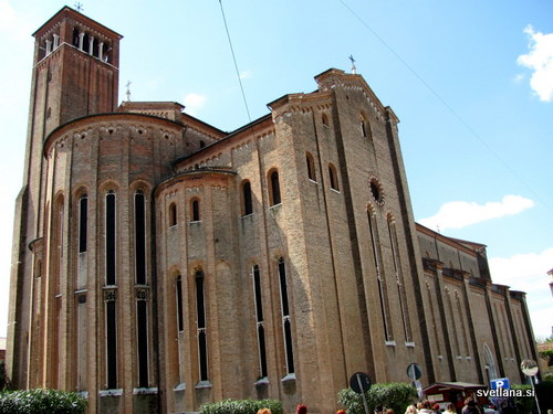 Treviso, cerkev sv.Nikolaja je nastala na začetku 14. stoletja