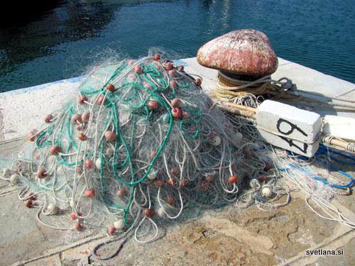 Ribiške mreže se pripravljajo za lov na ciplje