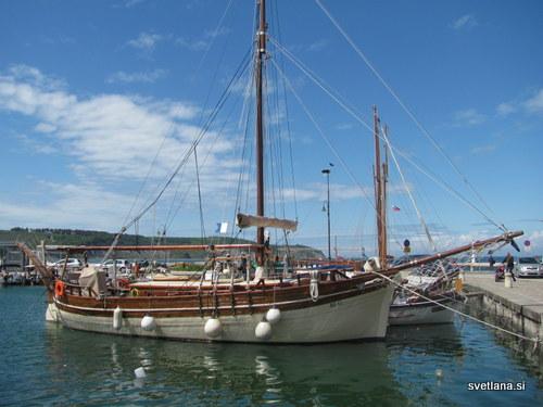 Mandrač v Izoli in barka za čisto desetko :)