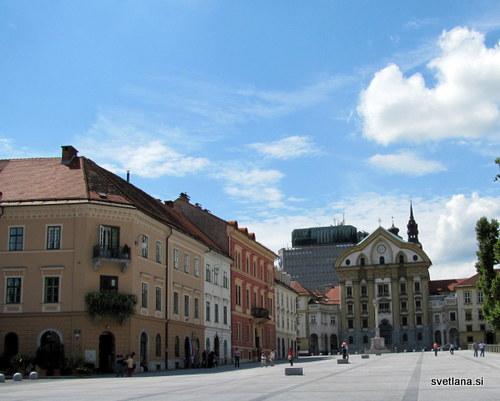 Kongresni trg je nastal leta 1823, kot spomin na kongres Svete alianse(januar do maj 1821), ko so Ljubljano obiskali znameniti gostje: cesar Franc I, car Aleksander I in neapeljski kralj Ferdinand