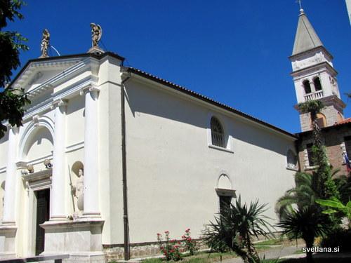 Romarska cerkev Marijinega prikazanja v Strunjanu